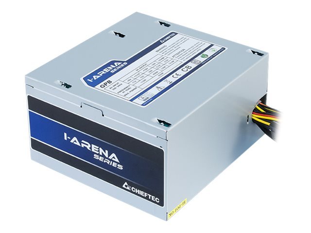 Chieftec iARENA GPB-500S - Stromversorgung (intern) - ATX12V 2.3/ PS/2 - 80 PLUS Bronze - Wechselstrom 230 V - 500 Watt