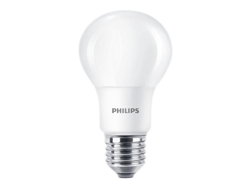Philips LED - LED-Lampe - E27 - 8 W (Entsprechung 60 W) - Klasse A+ - Warmweiss