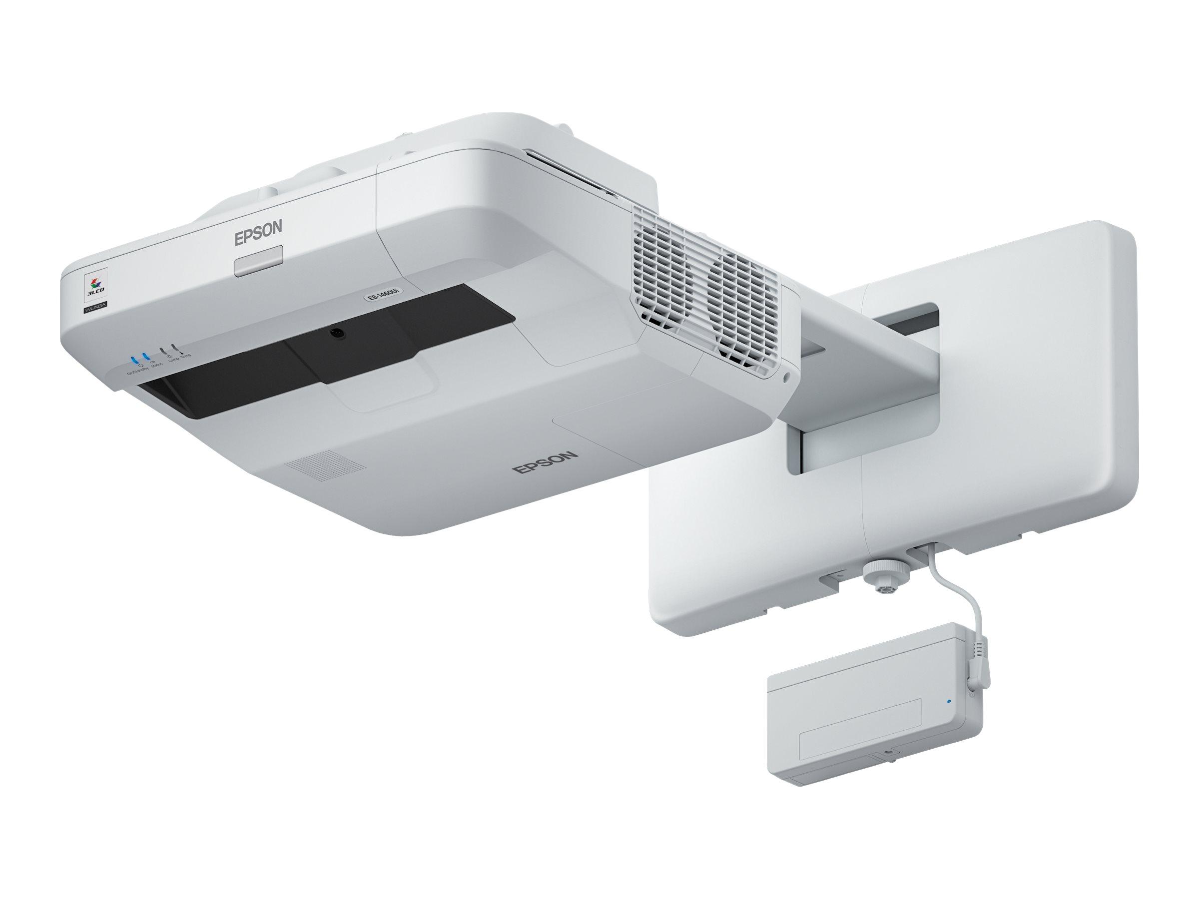 Epson EB-1450Ui - 3-LCD-Projektor - 3800 lm (weiss) - 3800 lm (Farbe) - WUXGA (1920 x 1200) - 16:10