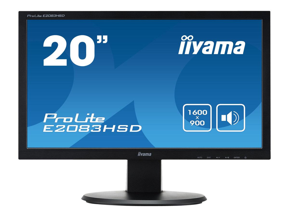 iiyama ProLite E2083HSD-1 - LED-Monitor - 50.8 cm (20