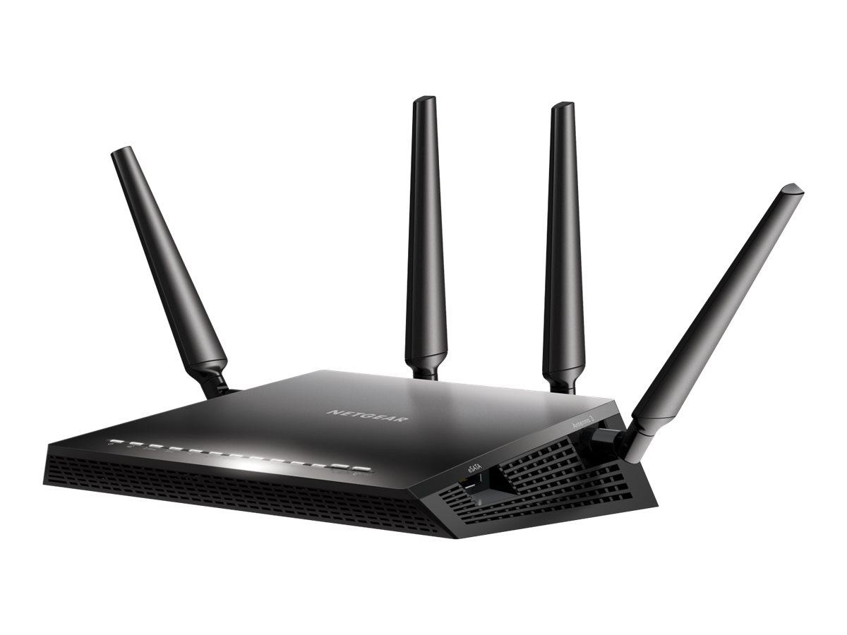NETGEAR Nighthawk X4S R7800 - Wireless Router - 4-Port-Switch - GigE - 802.11a/b/g/n/ac - Dual-Band