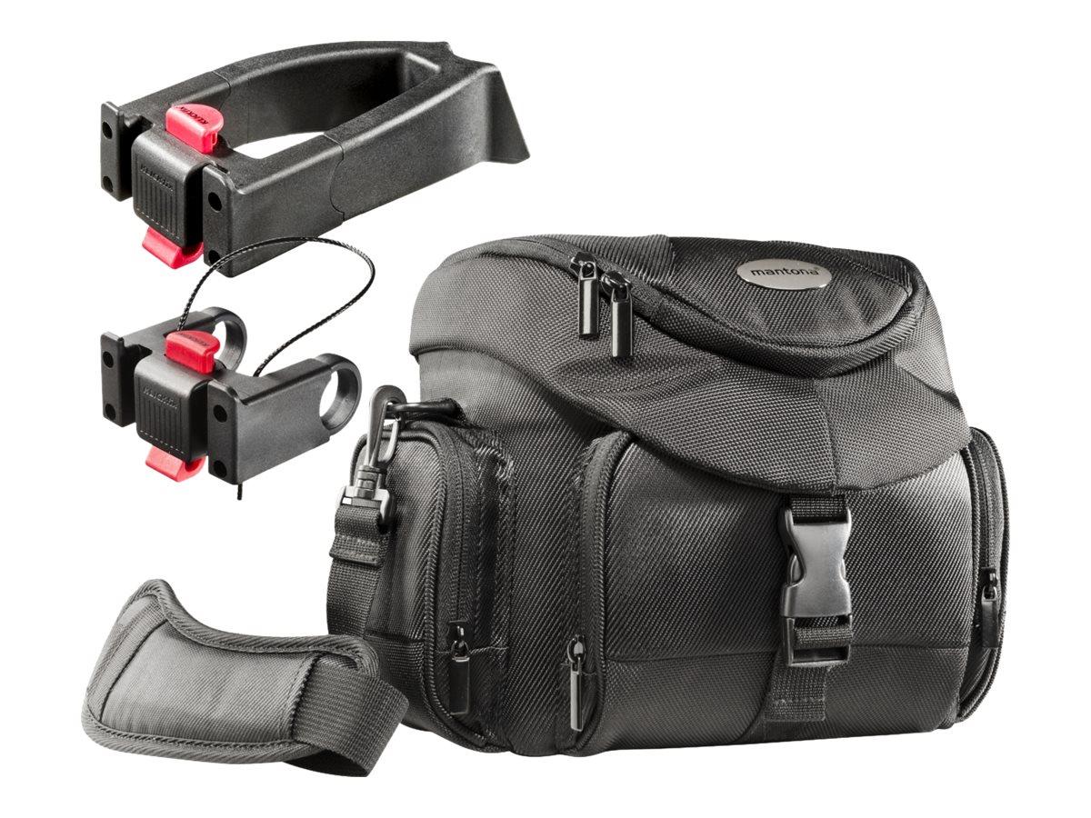 mantona Premium Biker - Tragetasche für Kamera