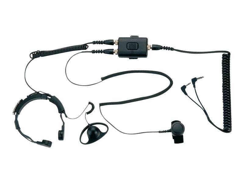 Albrecht AE 38 S2a - Headset - Ohrstöpsel - kabelgebunden - 3,5 mm Stecker, 2,5 mm Stecker