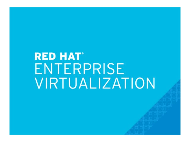 Red Hat Enterprise Virtualization - Standardabonnement (1 Jahr) - 2 Anschlüsse - Linux