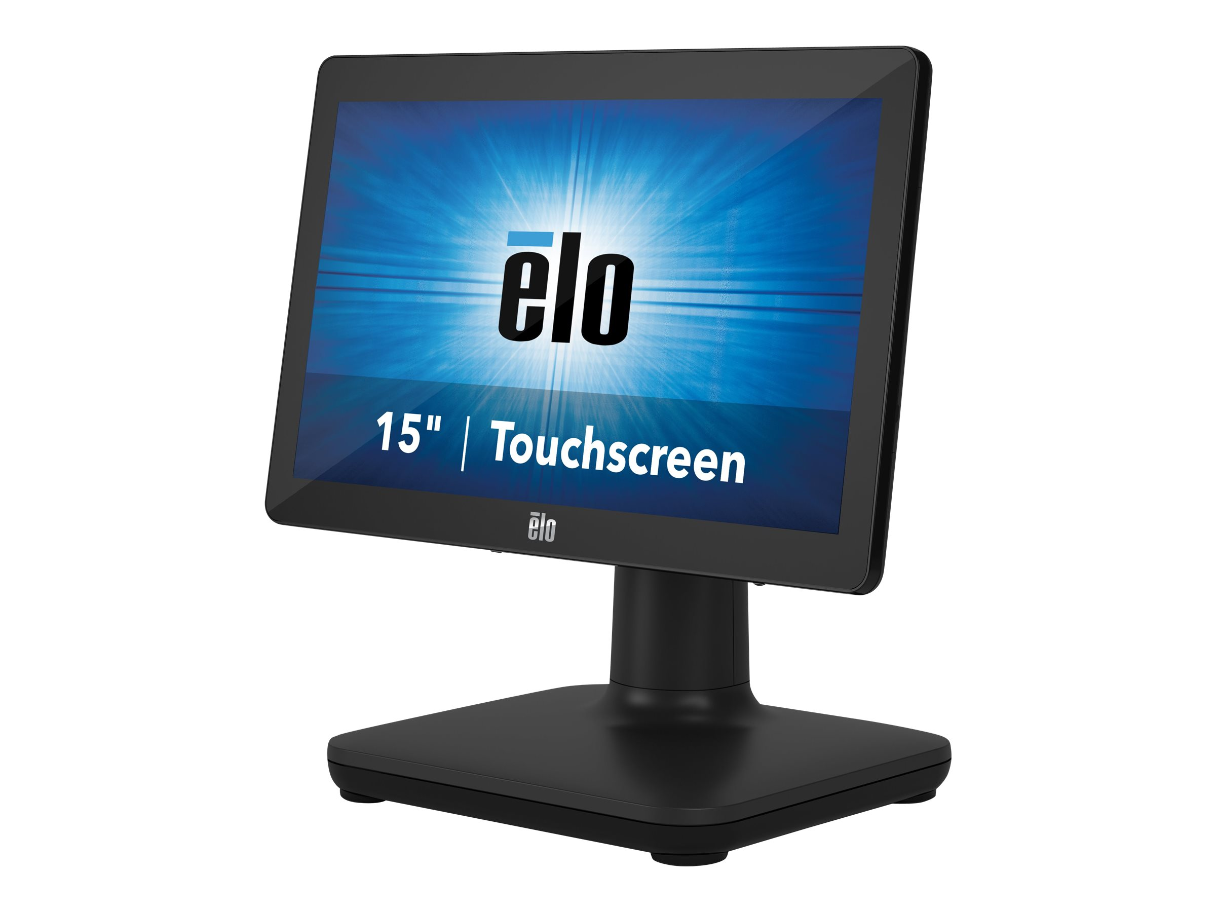 EloPOS System i3 - All-in-One (Komplettlösung) - 1 x Core i3 8100T / 3.1 GHz - RAM 4 GB - SSD 128 GB - UHD Graphics 630