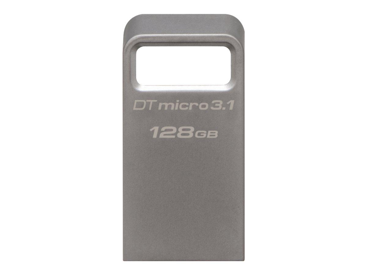 Kingston DataTraveler Micro 3.1 - USB-Flash-Laufwerk - 128 GB - USB 3.1