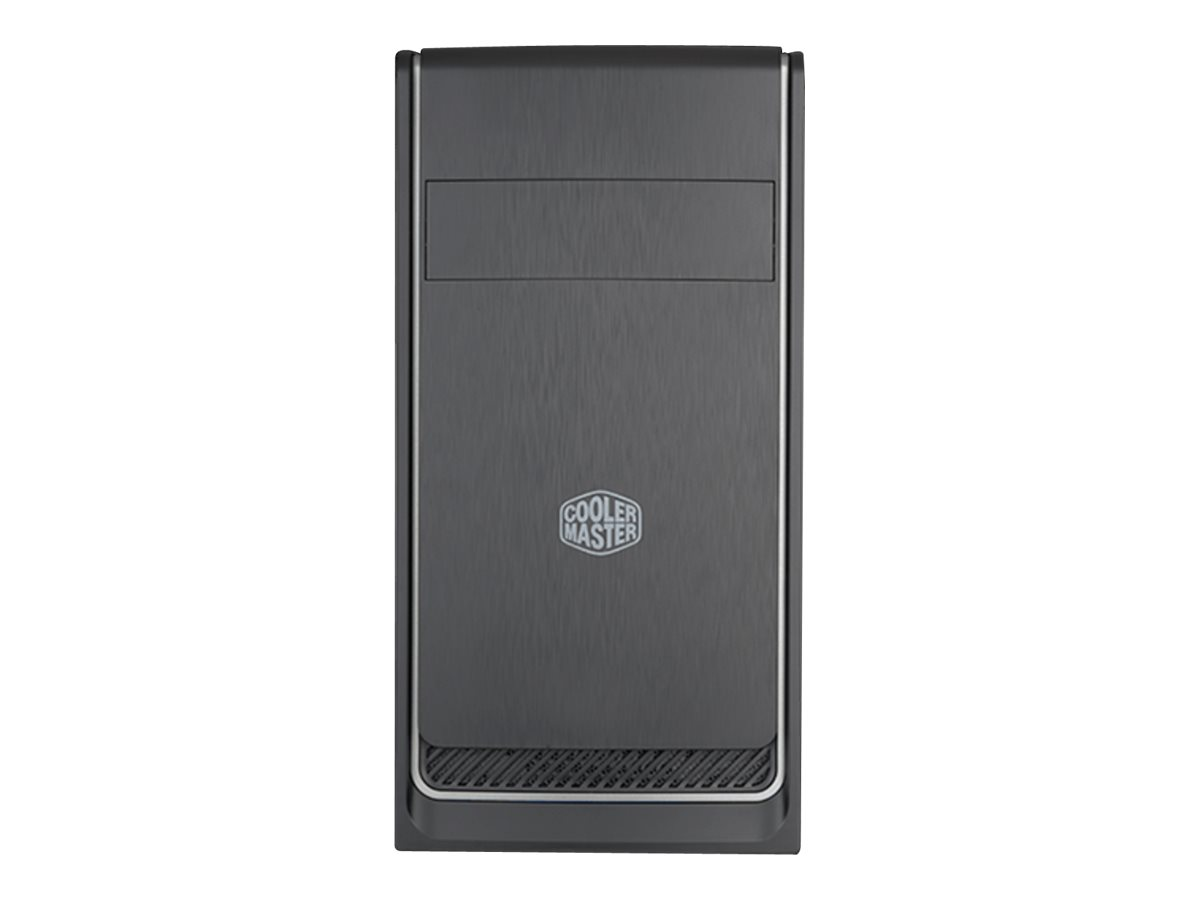 Cooler Master MasterBox E300L - Tower - micro ATX - ohne Netzteil (ATX) - Silber - USB/Audio