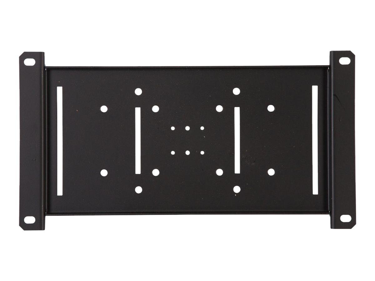 Peerless PLP V4X2 - Montagekomponente (Montage-Adapter) für Flat Panel - Schwarz - Montageschnittstelle: 400 x 200 mm - für In-W