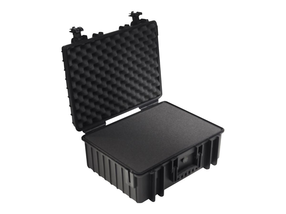 B&W outdoor.cases Type 6000 - Hartschalentasche - Polypropylen - Schwarz