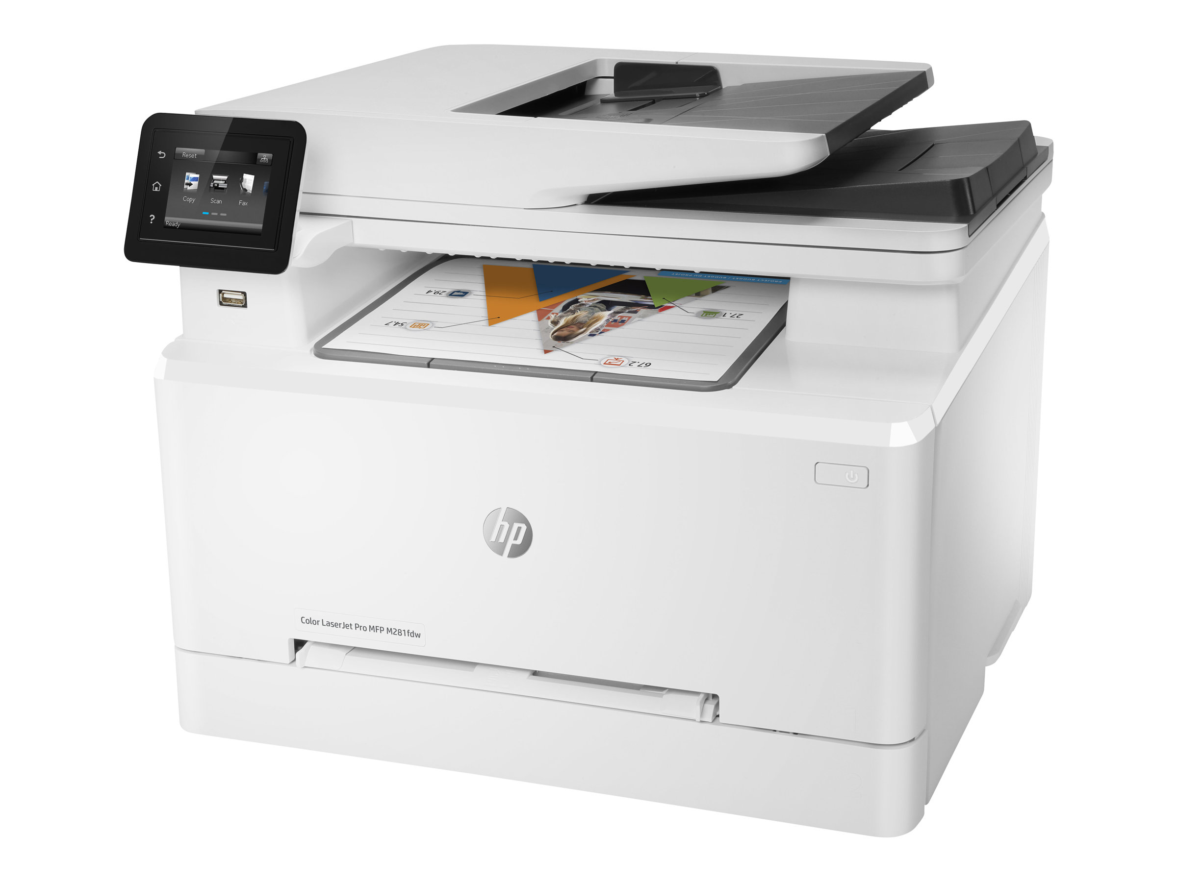 HP Color LaserJet Pro MFP M281fdw - Multifunktionsdrucker - Farbe - Laser - Legal (216 x 356 mm) (Original) - A4/Legal (Medien)
