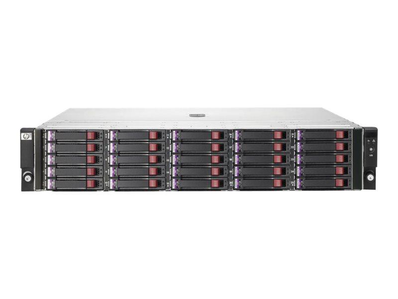 HPE StorageWorks Disk Enclosure D2700 - Speichergehäuse - 25 Schächte (SATA-300 / SAS-2) - HDD 1 TB x 25 - Rack - einbaufähig