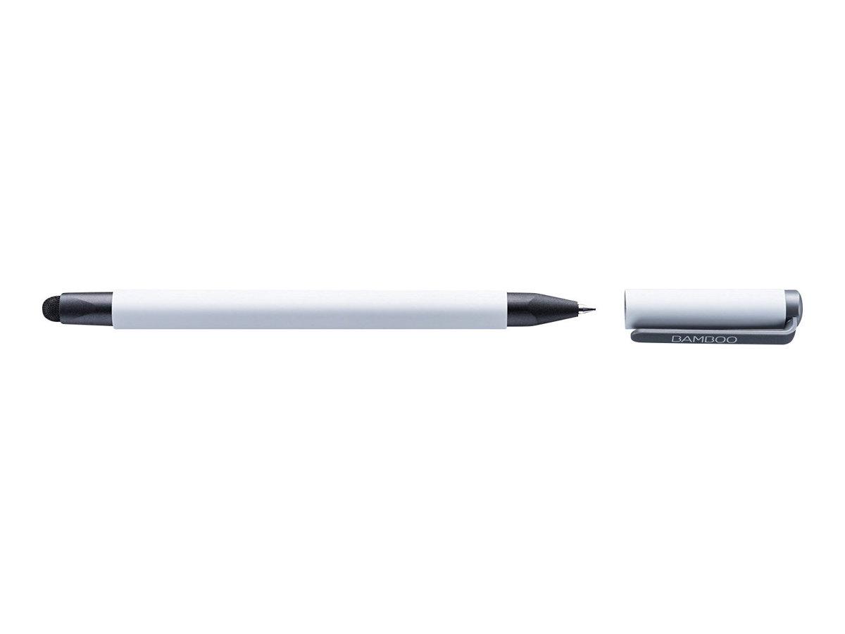 Wacom Bamboo Duo - Stift/Kugelschreiber - weiss