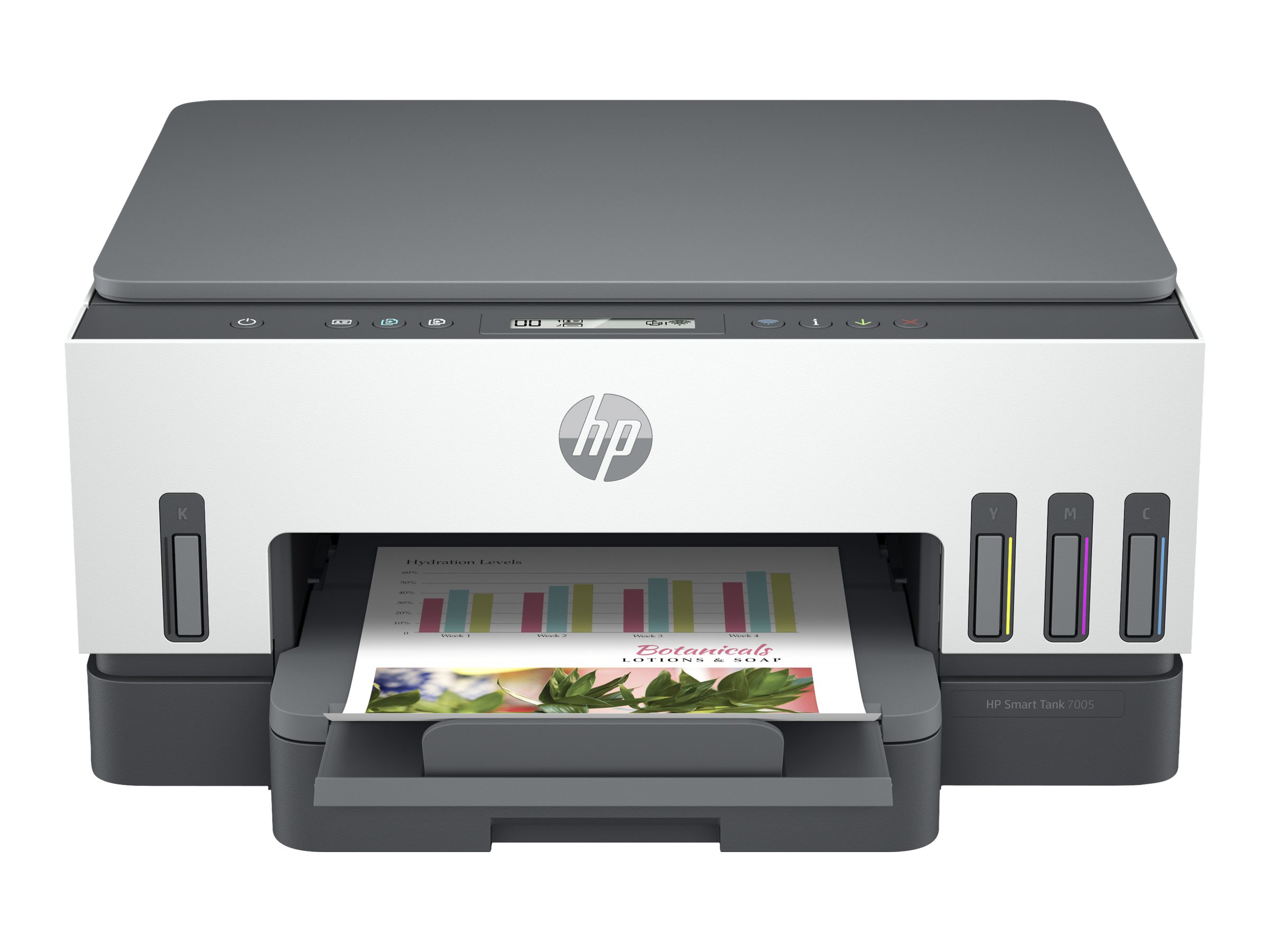 HP Smart Tank 7005 All-in-One - Multifunktionsdrucker - Farbe - Tintenstrahl - refillable - Letter A (216 x 279 mm)/A4 (210 x 29