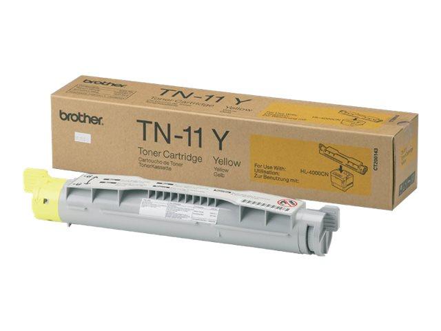 Brother TN11 - Gelb - Original - Tonerpatrone - für Brother HL-4000CN