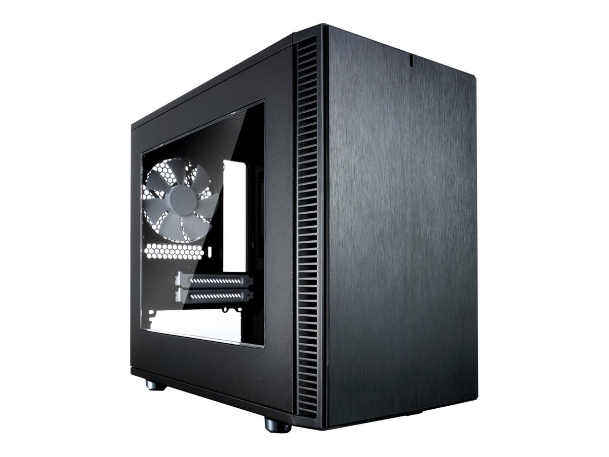 Fractal Design Define Nano S - Window - Tower - ITX - ohne Netzteil (ATX) - Schwarz