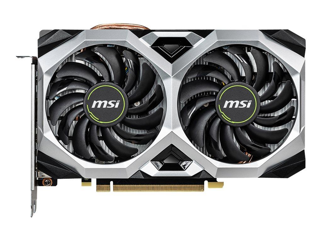 MSI RTX 2060 VENTUS XS 6G OC - Grafikkarten - GF RTX 2060 - 6 GB GDDR6 - PCIe 3.0 x16 - HDMI, 3 x DisplayPort