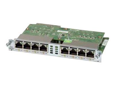 Cisco Gigabit EtherSwitch EHWIC - Switch - managed - 8 x 10/100/1000 - Plugin-Modul
