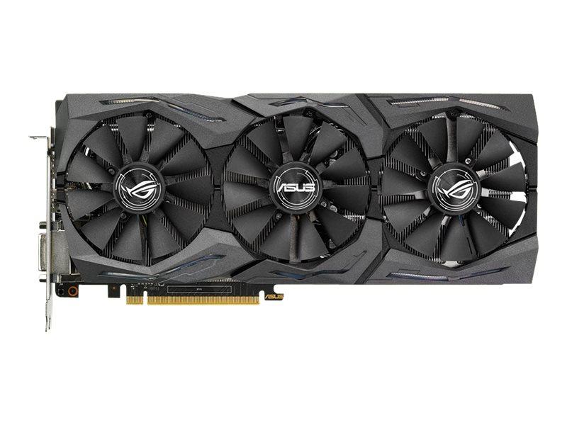 ASUS ROG-STRIX-GTX1060-A6G-GAMING - Grafikkarten - GF GTX 1060 - 6 GB GDDR5 - PCIe 3.0 x16 - DVI, 2 x HDMI, 2 x DisplayPort