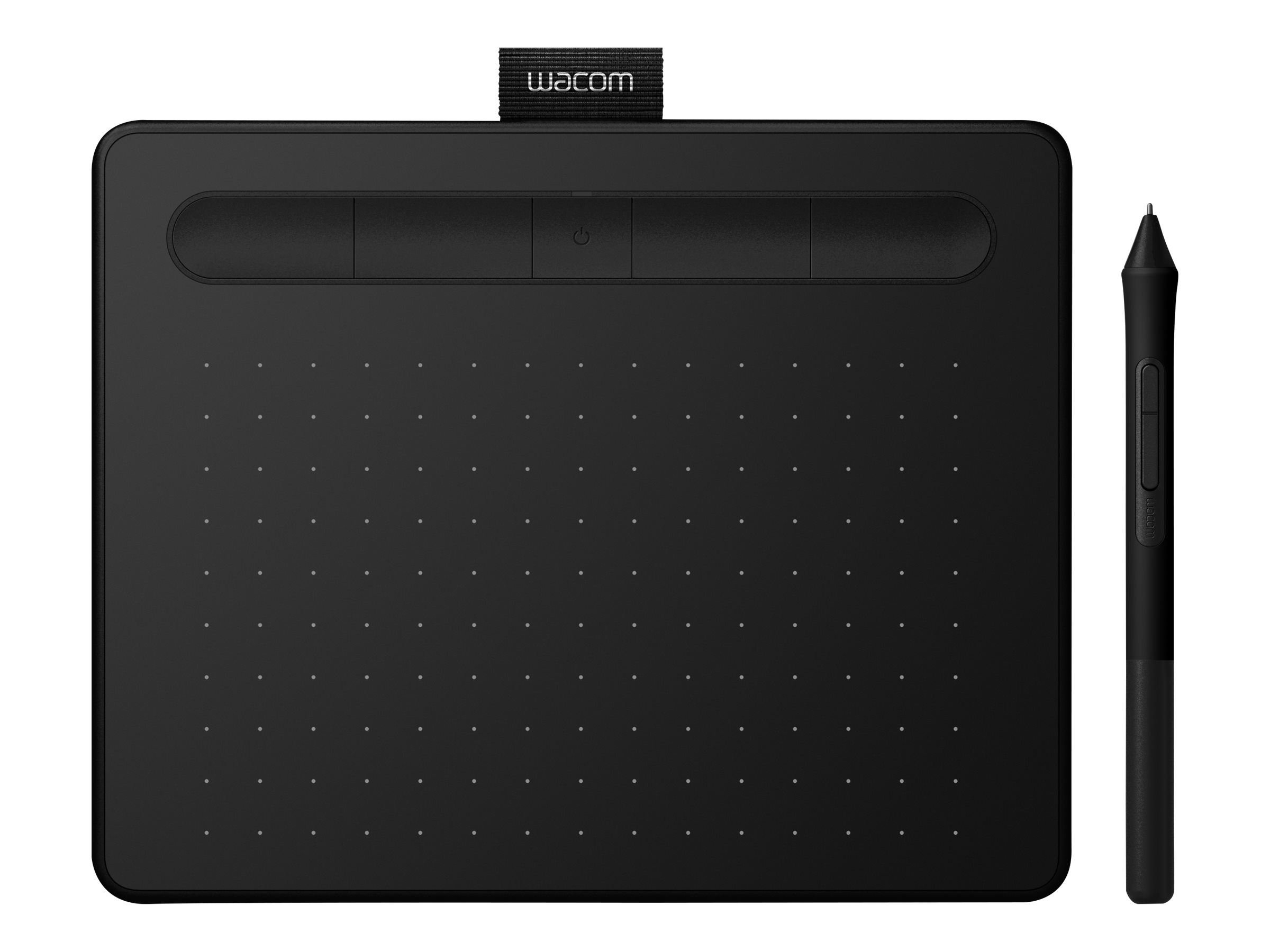 Wacom Intuos S with Bluetooth - Digitalisierer - rechts- und linkshändig - 15.2 x 9.6 cm - elektromagnetisch - 5 Tasten