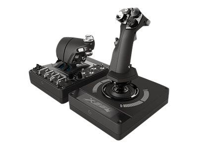 Logitech X56 H.O.T.A.S. - Joystick und Gasregler - kabelgebunden - für PC