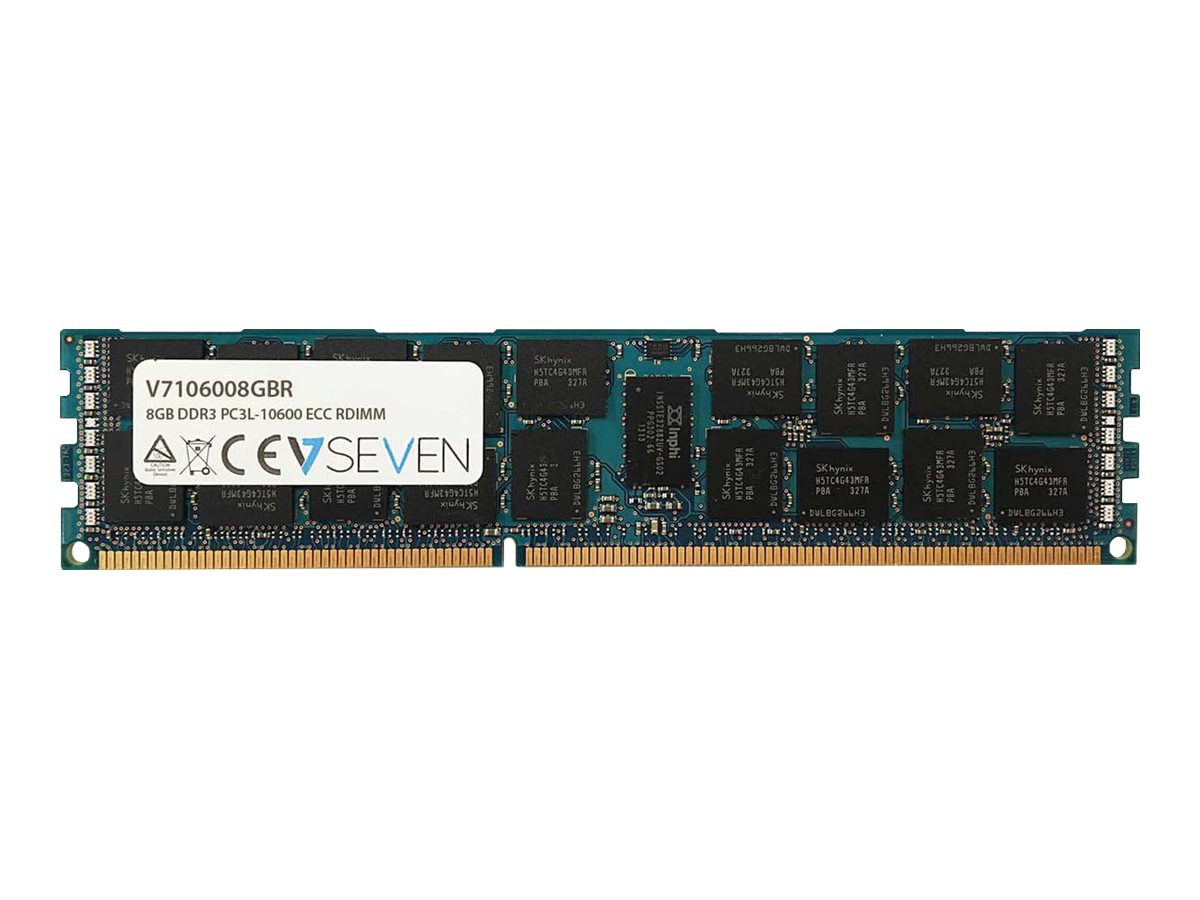 V7 - DDR3 - 8 GB - DIMM 240-PIN - 1333 MHz / PC3-10600 - registriert
