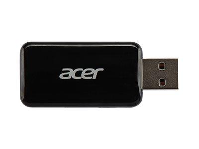 Acer UWA3 - Netzwerkadapter - USB 2.0 - 802.11b/g/n - Schwarz