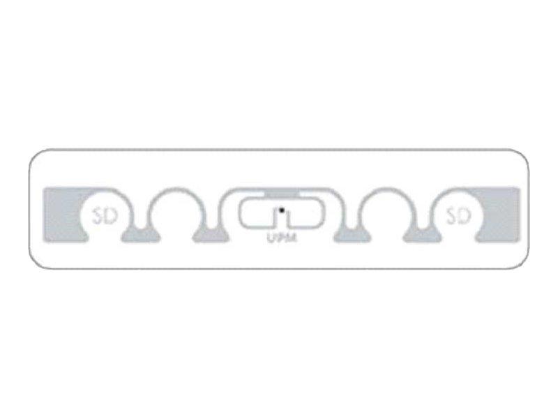 Zebra ShortDipole RFID Label - Permanenter Acrylklebstoff -, EPC Class 1 Gen 2, 860-960 MHz, 128-Bit - 97 x 15.01 mm 5000 Etiket
