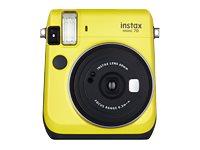 Fujifilm Instax Mini 70 - Instant Kamera - Objektiv: 60 mm Gelb