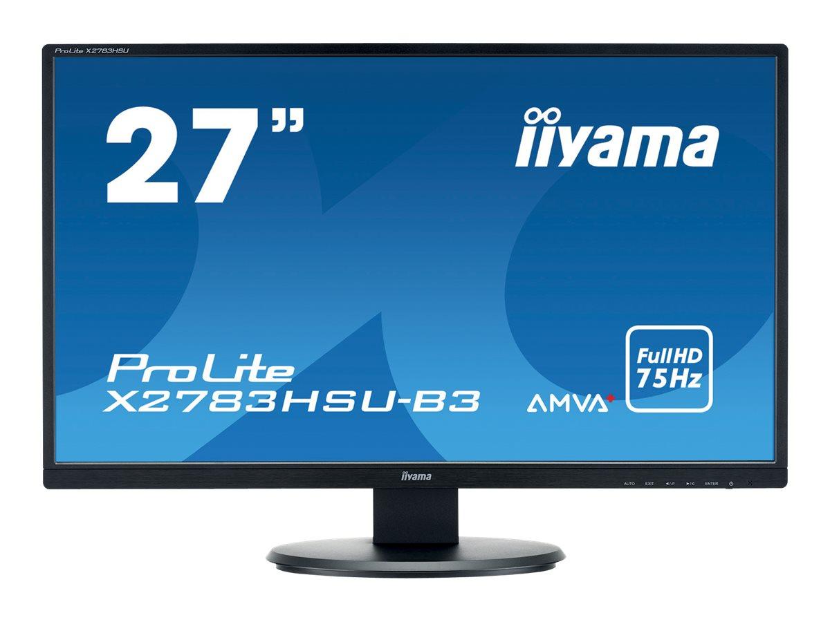 iiyama ProLite X2783HSU-B3 - LED-Monitor - 68.6 cm (27