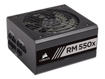CORSAIR RMx Series RM550x - 2018 Edition - Stromversorgung (intern) - ATX12V 2.4/ EPS12V 2.92 - 80 PLUS Gold - Wechselstrom 100-