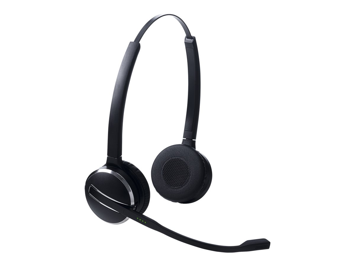 Jabra PRO 9400 Replacement - Headset - On-Ear - DECT 6.0 - kabellos - aktive Rauschunterdrückung