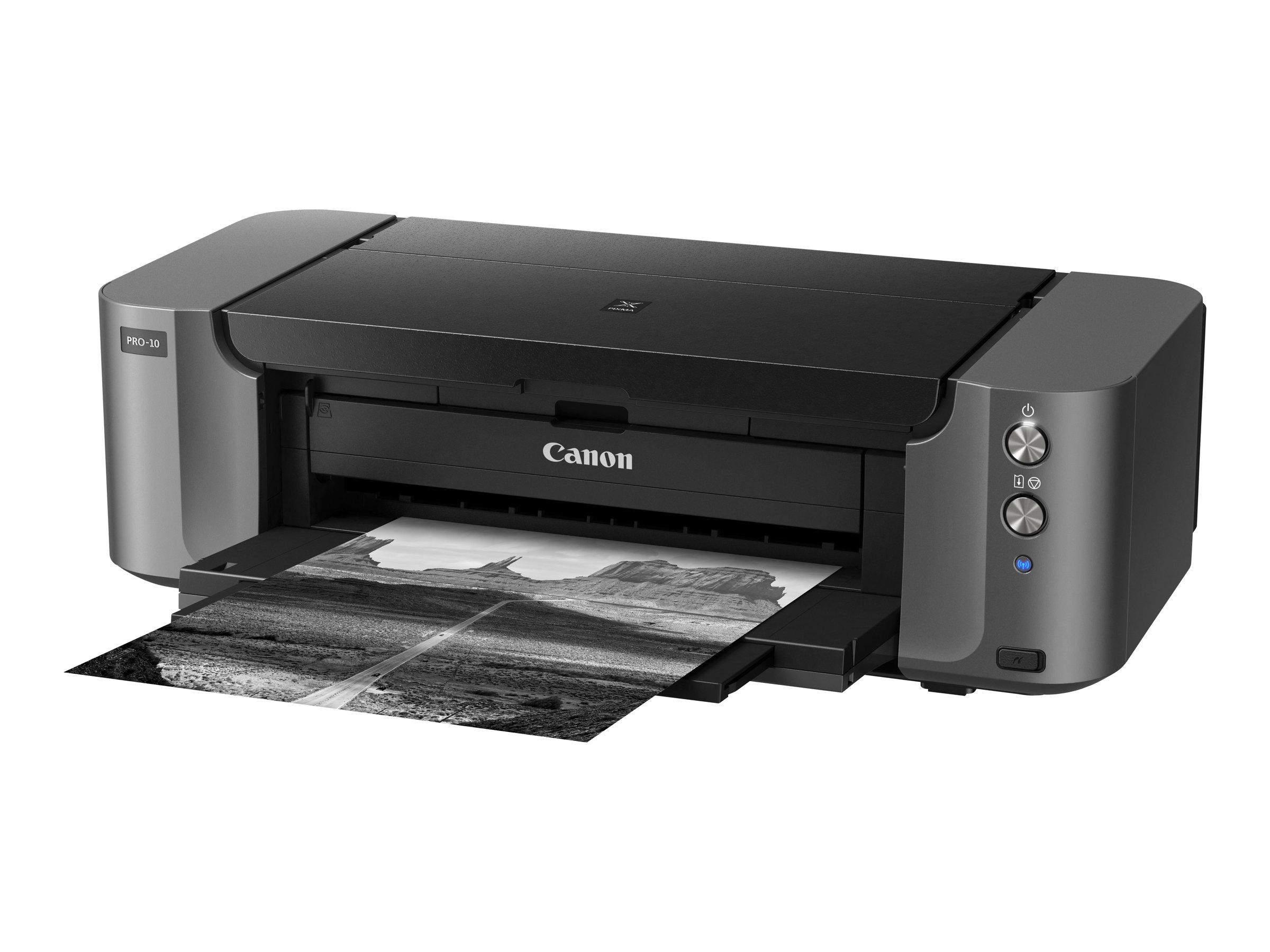 Canon PIXMA PRO-10S - Drucker - Farbe - Tintenstrahl - A3 Plus, 360 x 430 mm bis zu 3.58 Min./Seite (Farbe) - Kapazität: 150 Blä