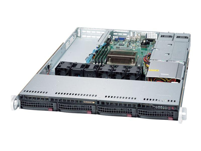 Supermicro SuperServer 5019S-WR - Server - Rack-Montage - 1U - 1-Weg - keine CPU
