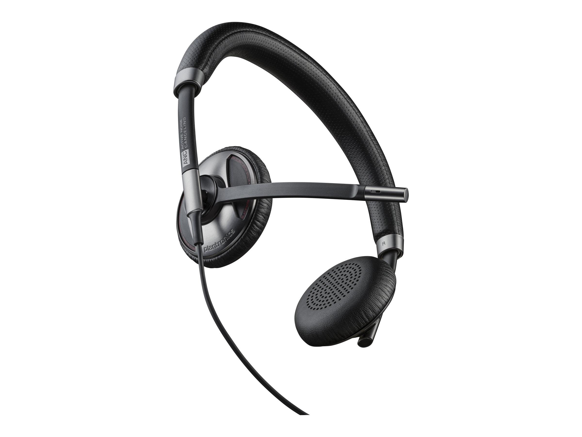 Plantronics Blackwire C725 - 700 Series - Headset - On-Ear - kabelgebunden - aktive Rauschunterdrückung