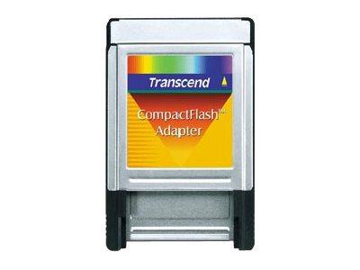 Transcend - Kartenadapter (CF I) - PC-Karte