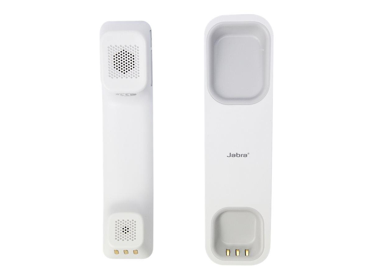 Jabra 450 - VoIP-Hörer - Wi-Fi - kabellos - weiss - für Cisco DX70, DX80