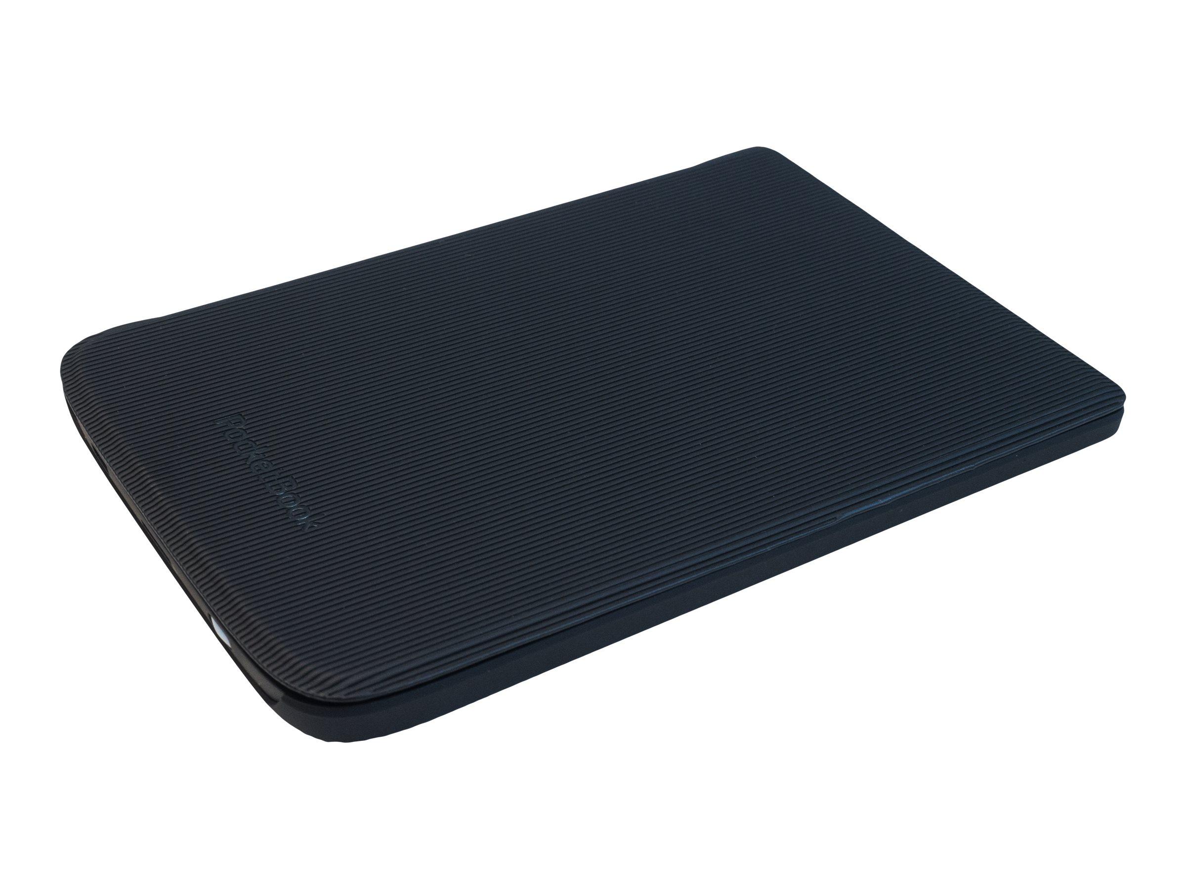 PocketBook Shell series - Flip-Hülle für eBook-Reader - Polyurethan - Schwarz - für PocketBook Touch HD 3