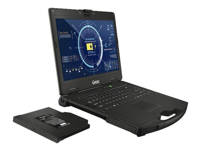 Getac S410 - Core i5 6200U / 2.3 GHz - Win 10 Pro 64-Bit - 8 GB RAM - 128 GB SSD + 500 GB HDD - 35.6 cm (14
