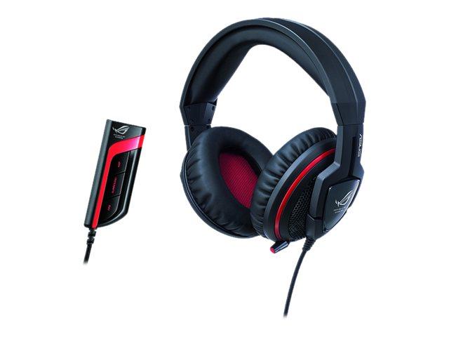 ASUS Orion PRO - Headset - Full-Size - kabelgebunden - mit ROG Spitfire-USB-Audioprozessor