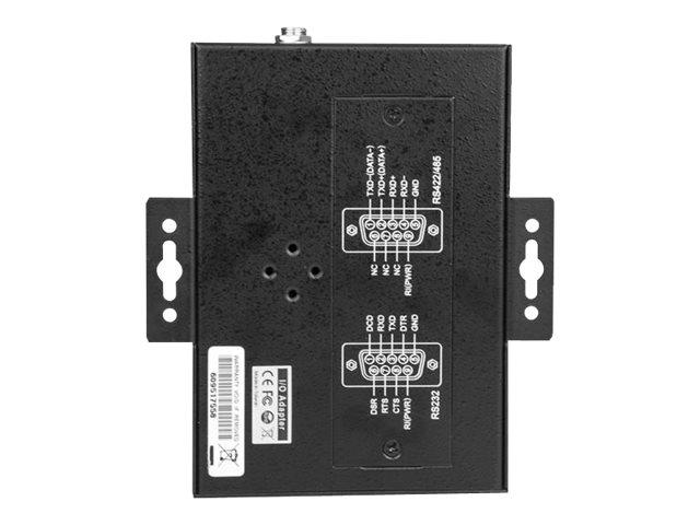 StarTech.com 4 Port industrieller USB auf RS232/ 422/ 485 Serieller Adapter - 15kv ESD Schutz - USB zu Seriell Adapter - Seriell