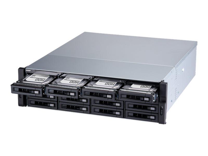QNAP TS-1677XU-RP - NAS-Server - 16 Schächte - Rack - einbaufähig - SATA 6Gb/s
