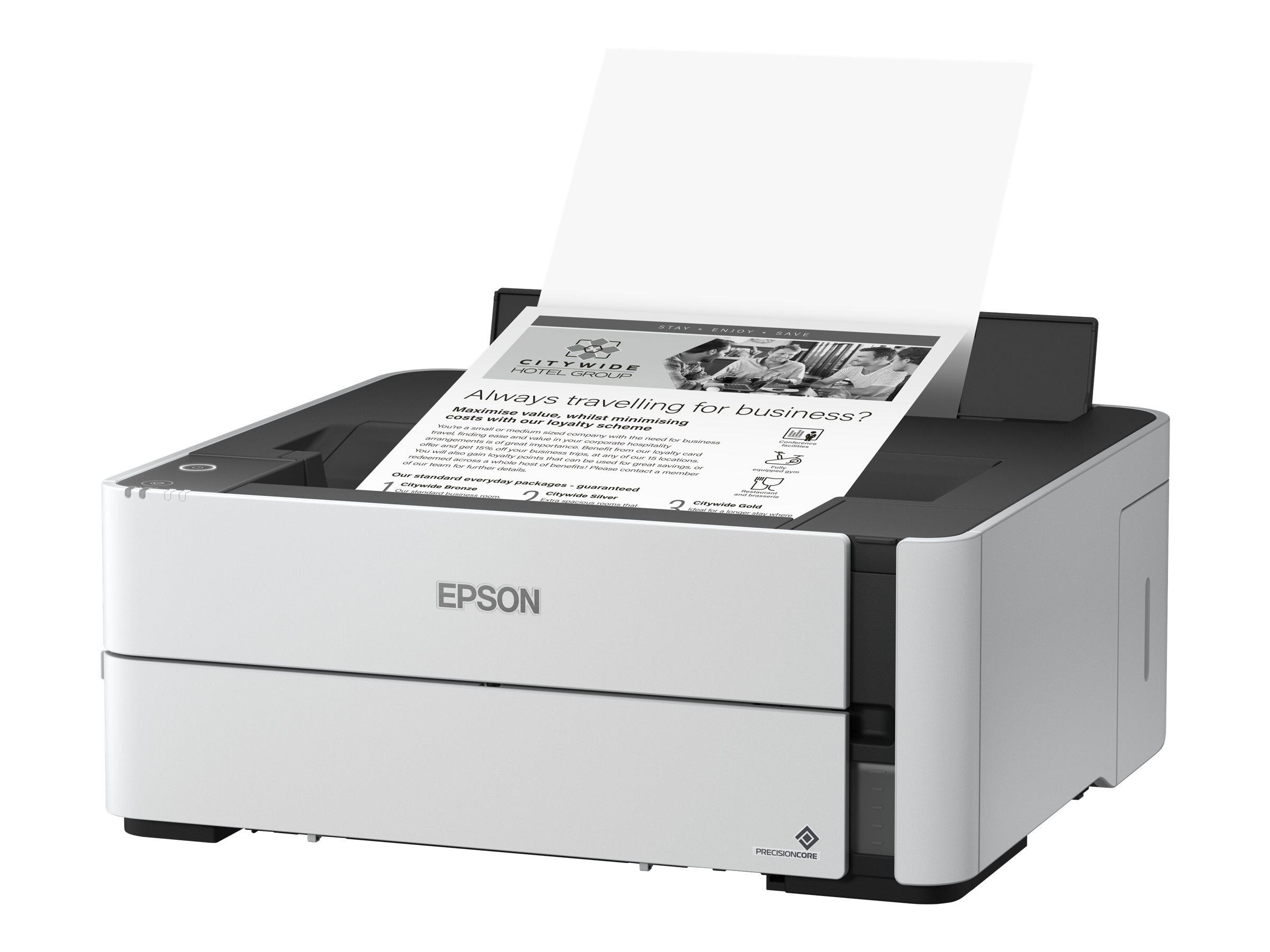 Epson EcoTank ET-M1140 - Drucker - monochrom - Duplex - Tintenstrahl - A4