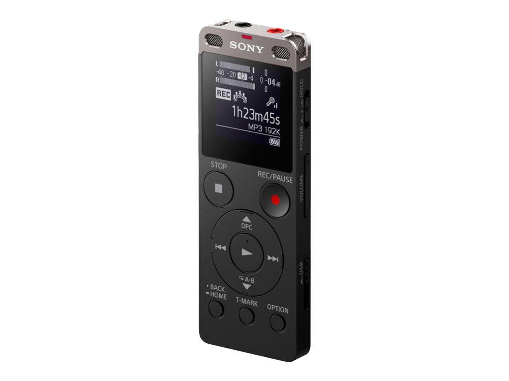 Sony ICD-UX560 - Voicerecorder - 4 GB - Schwarz