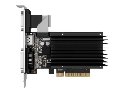 Gainward GeForce GT 730 SilentFX - Grafikkarten - GF GT 730 - 2 GB DDR3 - PCIe 2.0 - DVI, D-Sub, HDMI
