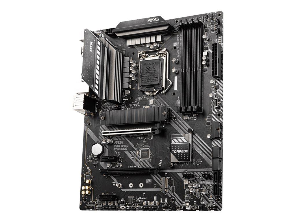 MSI MAG B460 TORPEDO - Motherboard - ATX - LGA1200-Sockel - B460 Chipsatz - USB-C Gen1, USB 3.2 Gen 1