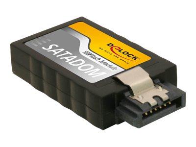 DeLOCK SATA Flash Module vertical - Solid-State-Disk - 16 GB - intern - SATA 6Gb/s