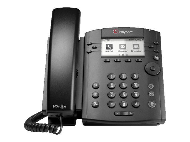 Poly VVX 300 - VoIP-Telefon - SIP, SDP - 6 Leitungen