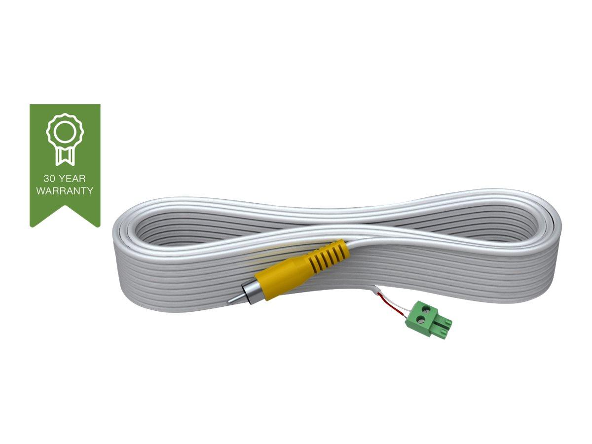 VISION Techconnect 2 - Videokabel - composite video - 2 PIN Phoenix (M) bis RCA (M) - 10 m - geformt