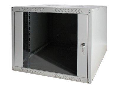 DIGITUS SoHoline DN-19 07-U-EC - Gehäuse - geeignet für Wandmontage - Grau, RAL 7035 - 7U - 48.3 cm (19