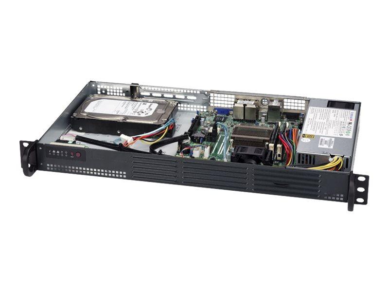 Supermicro SuperServer 5018A-LTN4 - Server - Rack-Montage - 1U - 1-Weg - 1 x Atom C2358